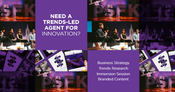 Change Now: Hire trend researchers, product conceptors and innovation experts