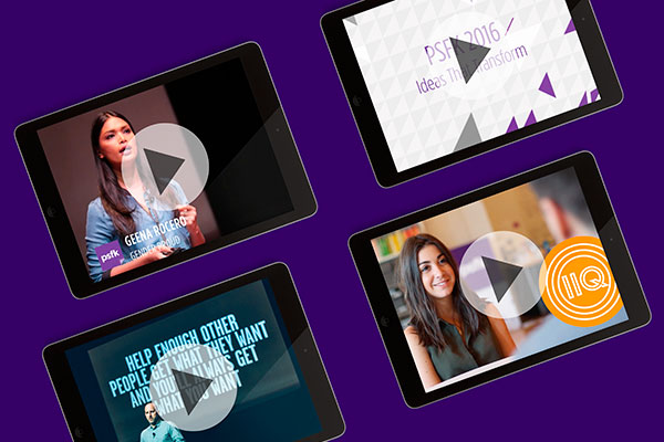 Watch Now: Study hundreds of change makers sharing their insights