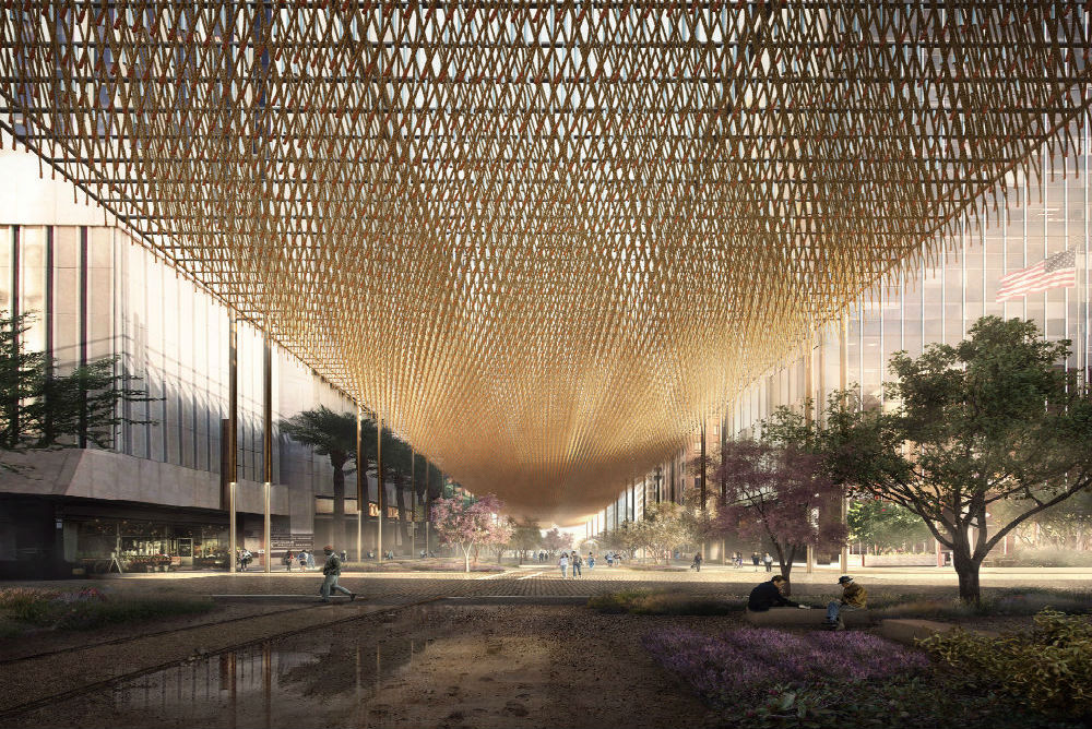 & Urban Canopy Concept Could Help Cool Overheating Cities