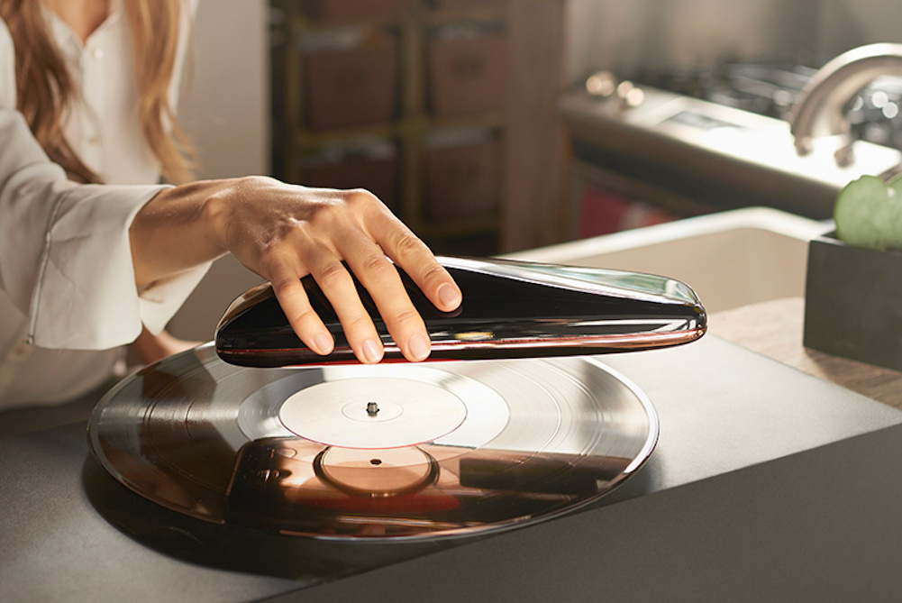 Play Old School Vinyl Records With Your Mobile Phone