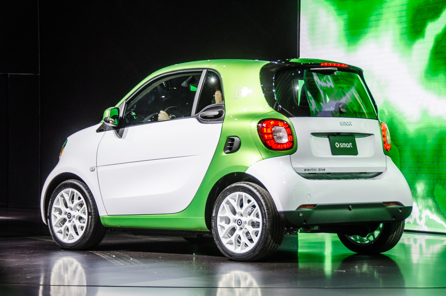 Smart To Sell Electric Only Cars In The Us And Canada