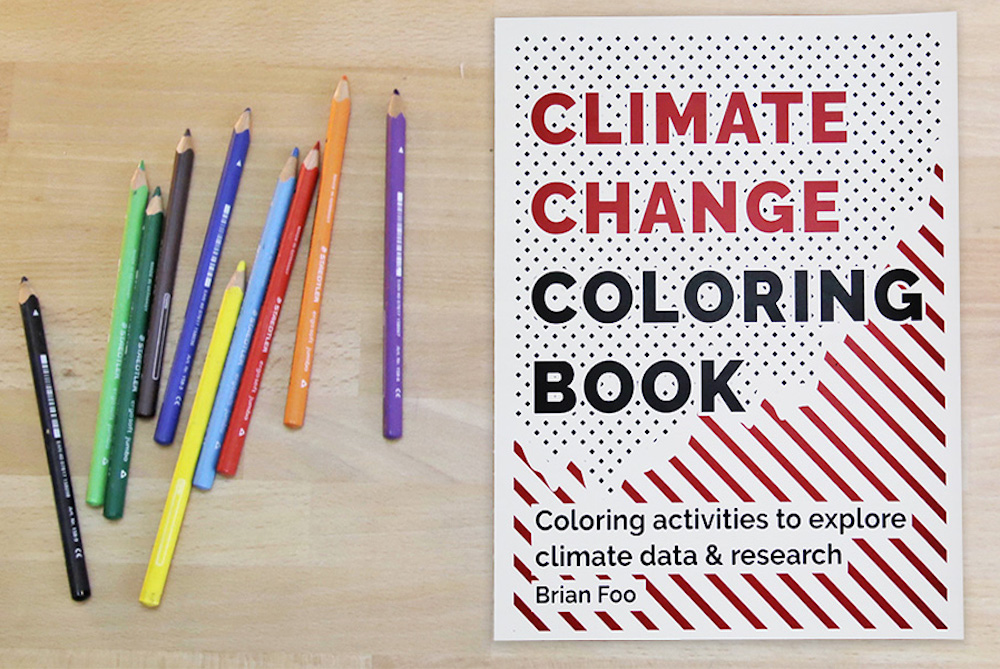 Coloring Book Encourages Reflection On Climate Change