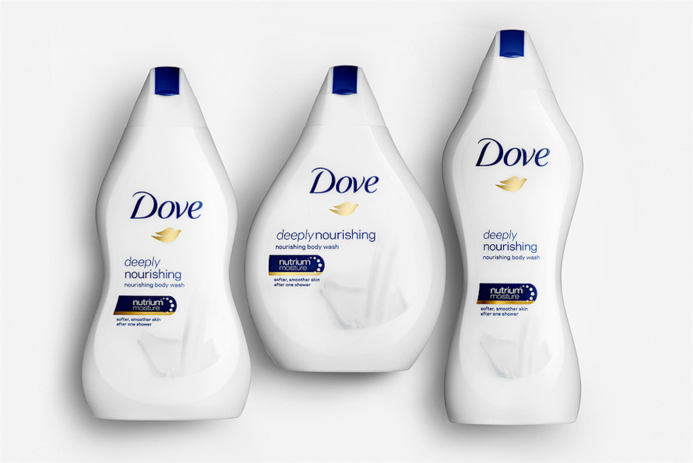 "Dove Produces ""Real Beauty"" Bottles To Look Like Different Body Types"