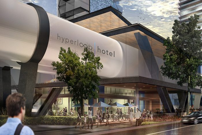 Concept Hyperloop Hotel Lets Guests Zoom Between Cities In A Luxury Suite
