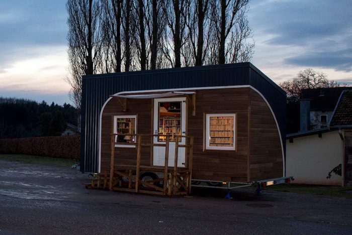 Tiny Traveling Bookstore Brings Literature To Small Towns In France