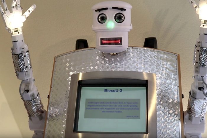Robot Priest Challenges Debate Over The Future Of Organized Churches