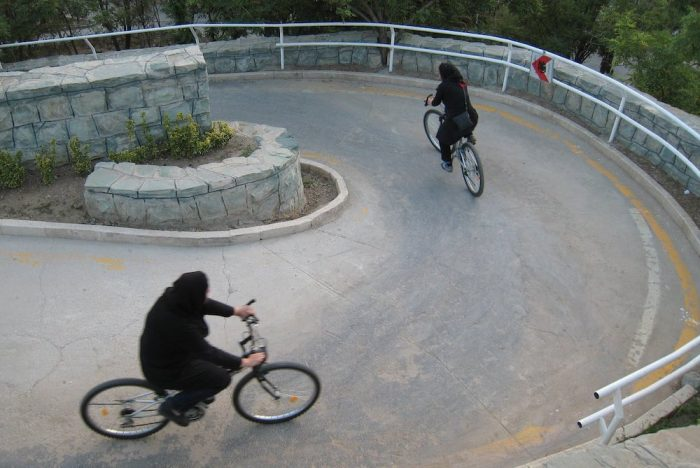 Biking Women Make A Political Statement In Tehran