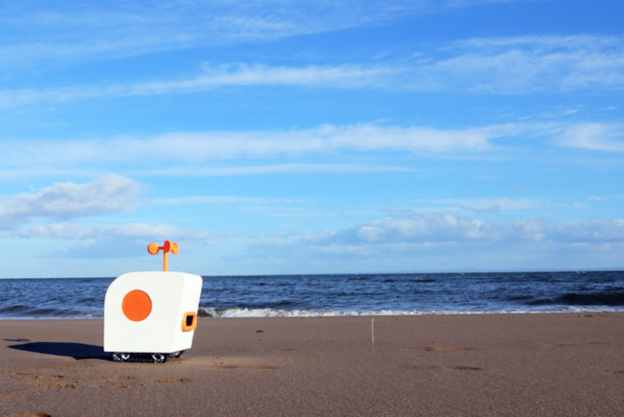 This Robot Was Made To Be A Poet By The Sea