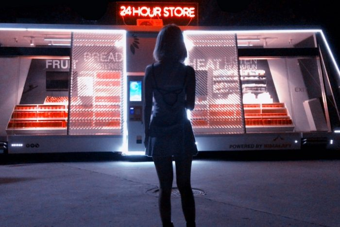 Self-Driving Convenience Store Is Staffed By Artificial Intelligence
