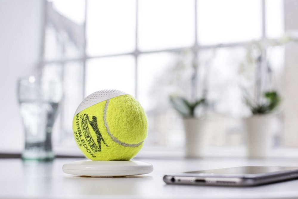 Championship tennis balls are repurposed into portable - Can tennis balls be recycled ...