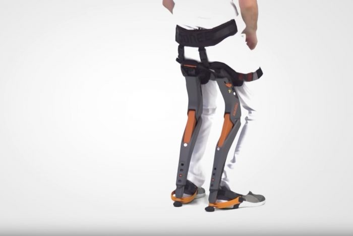 'Chairless Chair' Supports Active Factory Workers