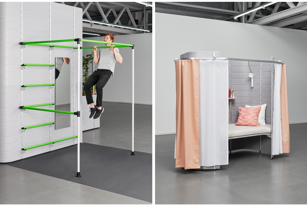A Group Of Students Are Exploring The Future Of Cubicle Living