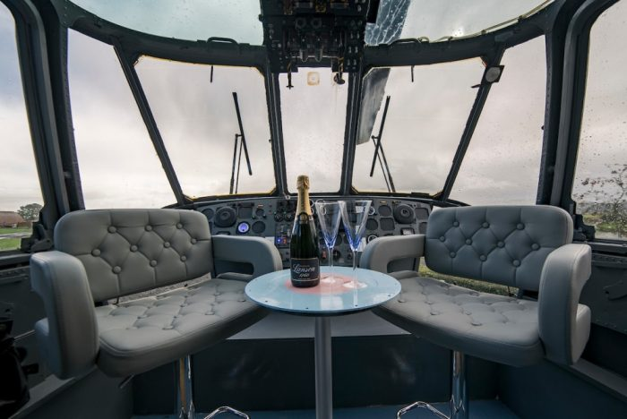 Royal Navy Helicopter Is Transformed Into A Hotel Room In Scotland