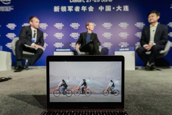 Chinese Bike Share Launches Partnership For Air-Purifying Bicycles