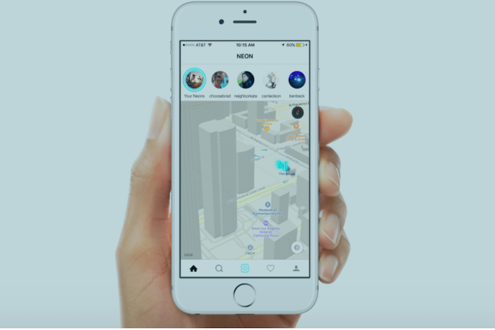 Say Hello To The First Augmented Reality Messaging Platform