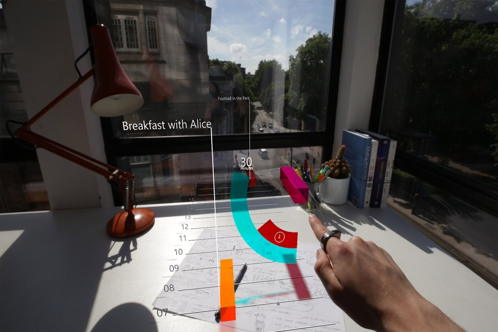 Interact With Augmented Reality Using A Simple Elegant Ring