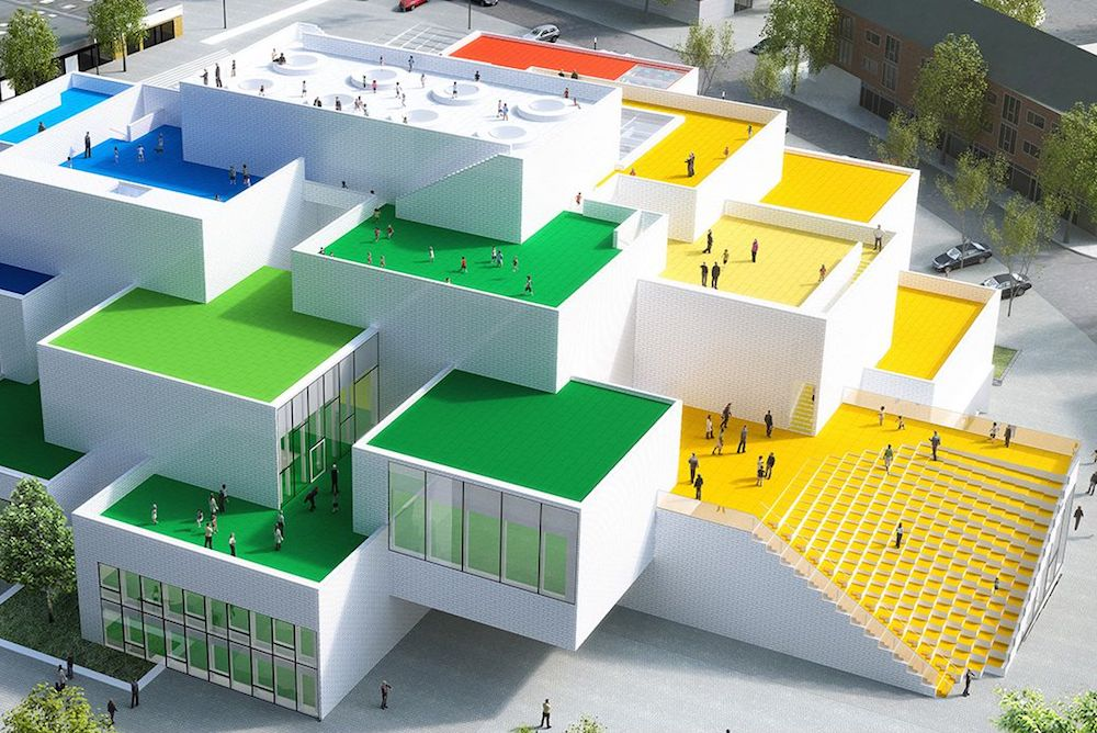 LEGO Will Release A Buildable Model Of Its New Experience Center