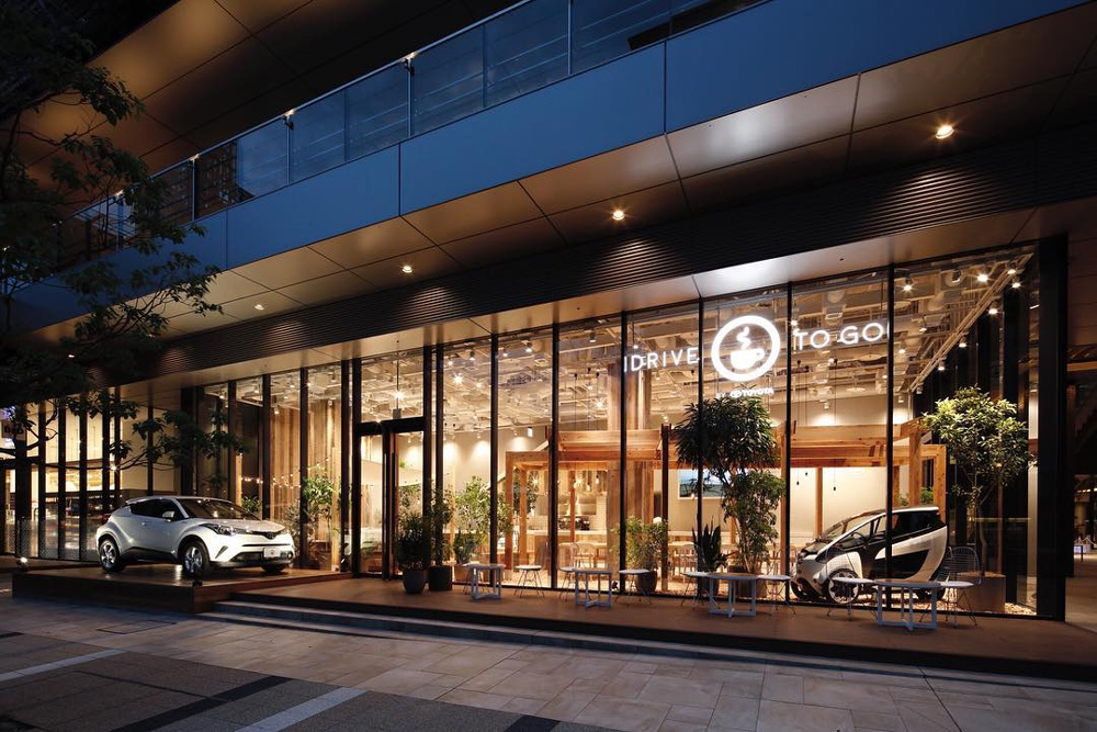 Toyota S New Concept Store In Japan Is A Cafe And Car Share Showroom