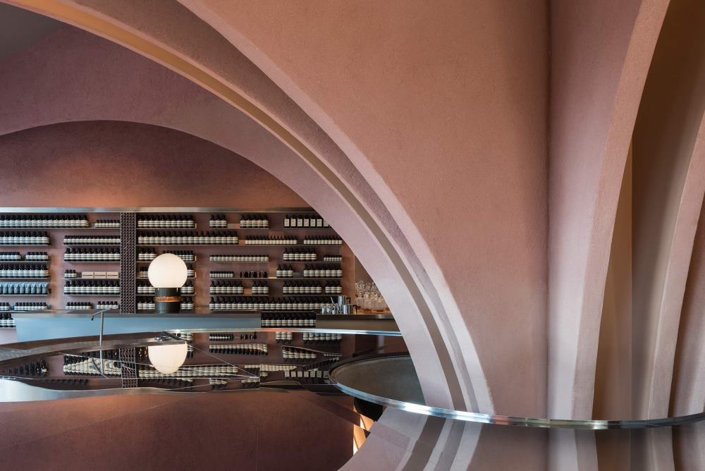Aesop's New London Store Takes Design Inspiration From James Bond