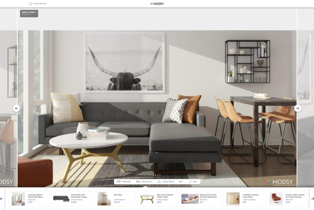 Interior Design Service Builds A 3D Model Of Your Room