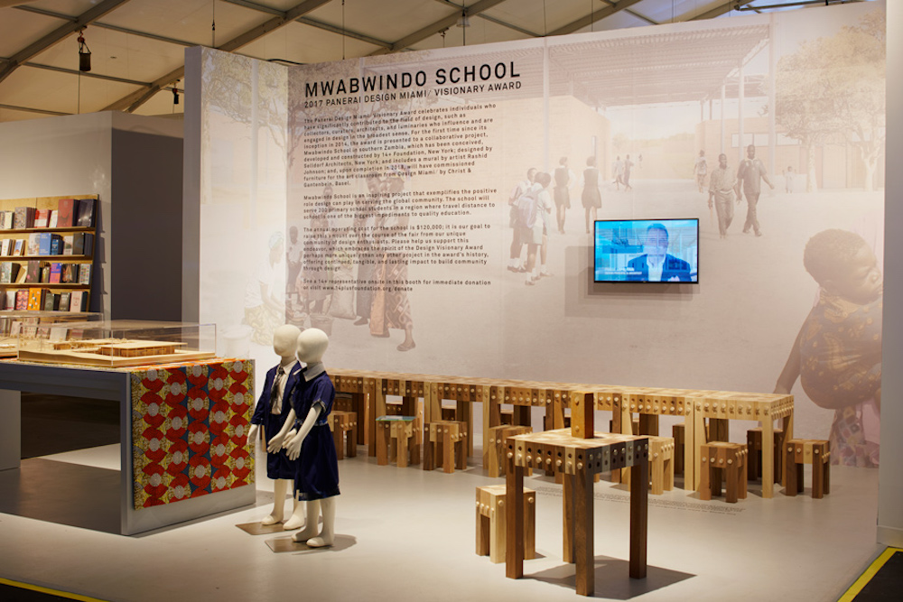 Design Miami Commissions School Furniture To Support An African