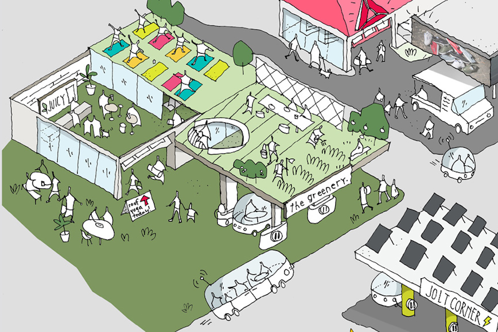 Reebok Plan Could Transform Gas Stations Into Wellness Hubs
