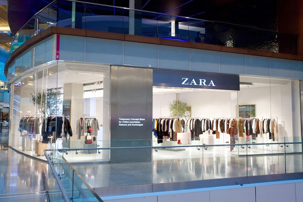 Zara's New London Store Seamlessly Integrates Online and Offline Shopping