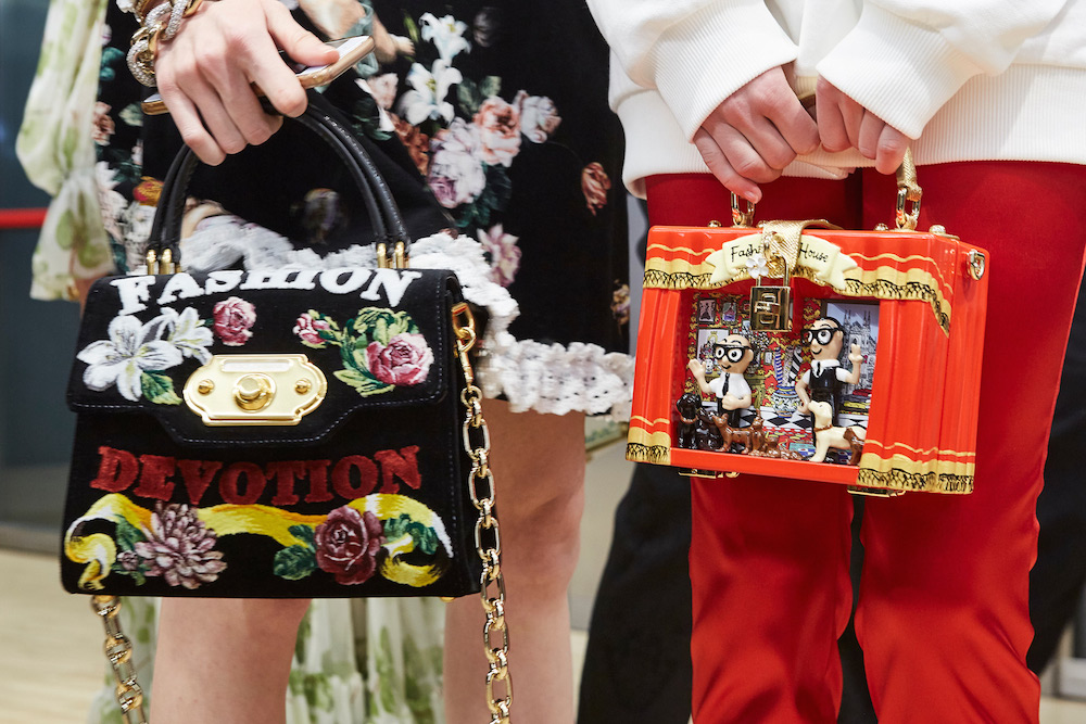 2d90d444549b Dolce   Gabbana Uses Drones As Models At Its Fall 2018 Runway Show